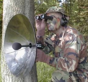 hearing aids parabolic amp shotgun mics